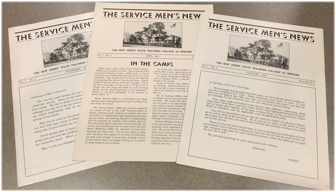 Photo of Magazine Issues of The Service Men's News